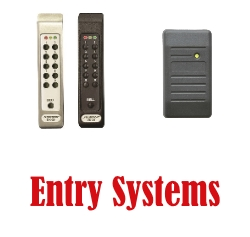 Keypad Entry and Proximity Badge